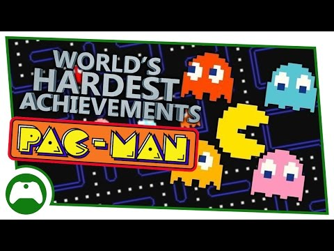 Pac-Man - World's Hardest Achievements - Om Nom Nom X4