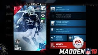 RAGE SELLING MY TEAM! FTW! - Madden 16 Ultimate Team | MUT 16 Gameplay