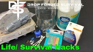 11 EASY Survival Hacks Everyone Should Know!