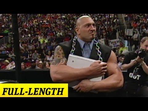 """Batista's WWE Debut"""