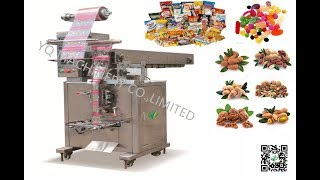 vffs machine Snack ried Beans Popcorn form fill seal packing equipment упаковочная машина