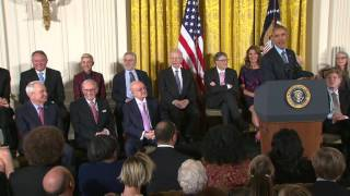 Kareem Abdul-Jabbar Receives The Presidential Medal of Freedom
