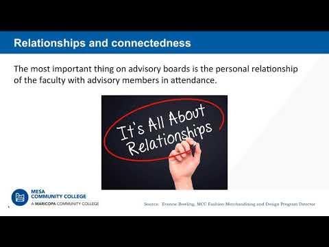 Advisory Committee Best Practices