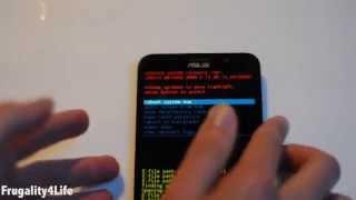 Asus Zenfone 2 Recovery Mode error Android (Solución en español)