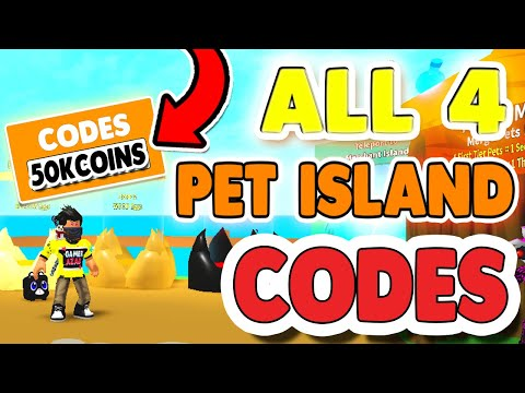 50K *COINS CODES* IN PET ISLAND ROBLOX JULY 2020