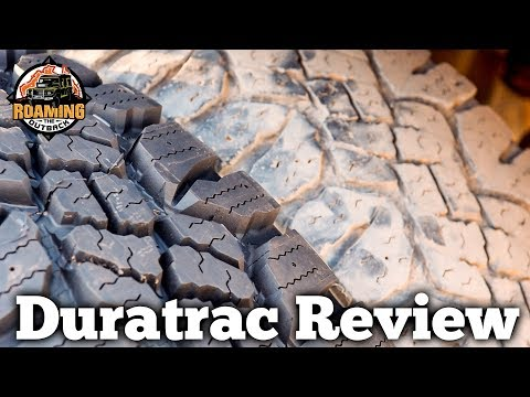 Goodyear Duratrac Tyre Review After 65000km of Travelling Australia