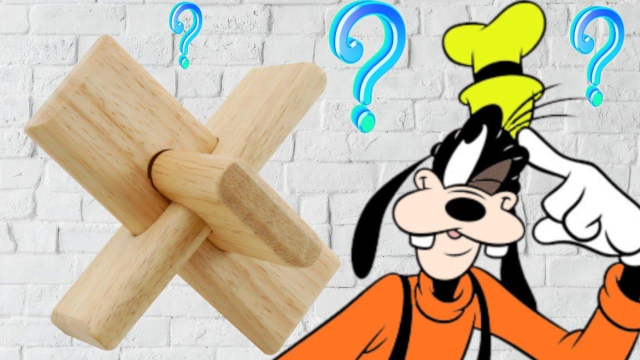 TUTO Solution du Casse-tête croix en bois Rompicapo