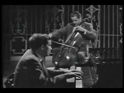 Beethoven - Cello Sonata - Glenn Gould & Leonard Rose -PART1