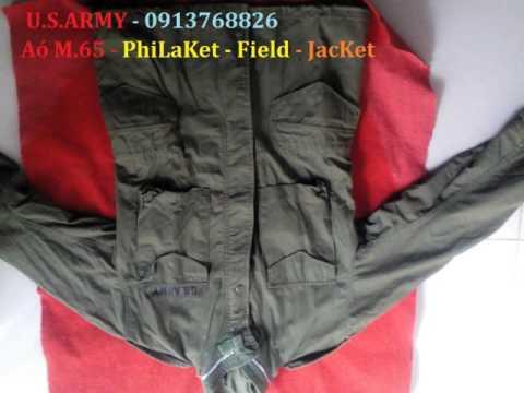 Áo Khoác Lính Mỹ - M-65 - áo Philaket - áo Jacket - SHOP ARMY - U.S.ARMY