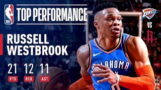 Russell Westbrook Records His 9th CONSECUTIVE Triple-Double | February 9, 2019