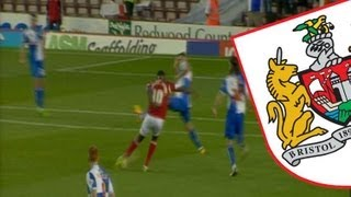 Goals: Bristol City 2-1 Bristol Rovers