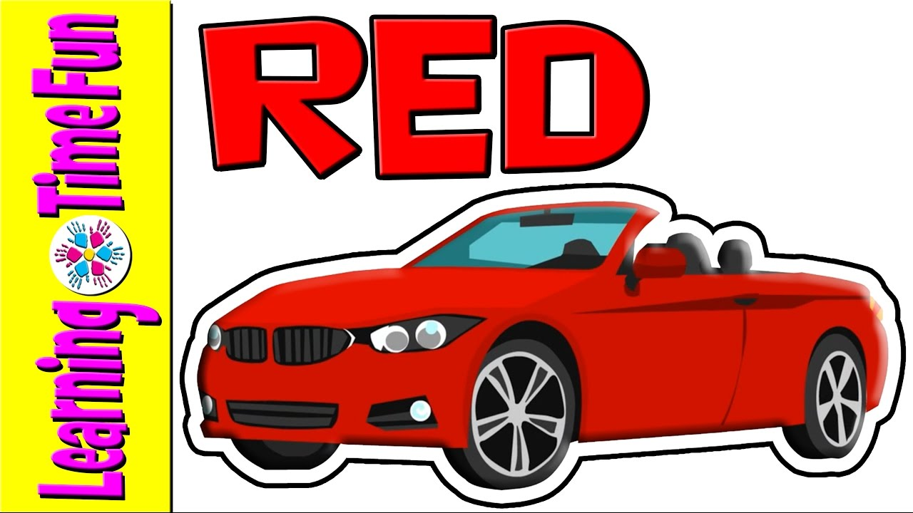 The Colors | RED | Color Red | Primary Colors | Color Names | All Colors |  Red Colour | ESL
