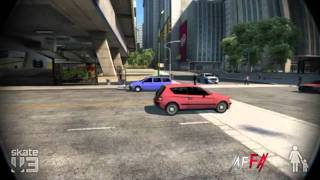 "Game Fails: Skate 3 ""Nailed it"""