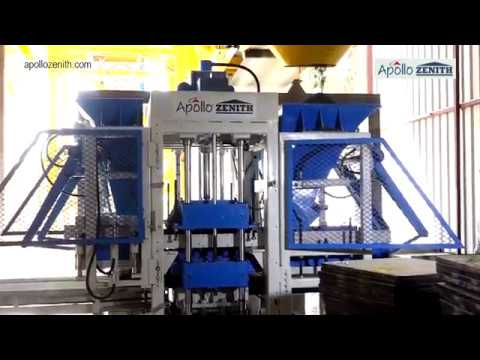 Concrete Block Making Machine - Apollo Zenith ZN-600