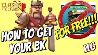 Clash of Clans How To Get Your Barbarian King Town Hall 7 Without Spending Gems   TH 7 Updated