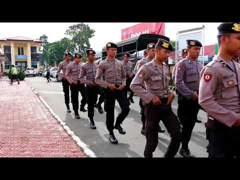 Persiapan Pemilu  Polres Rejang Lebong latihan DALMAS Mp3