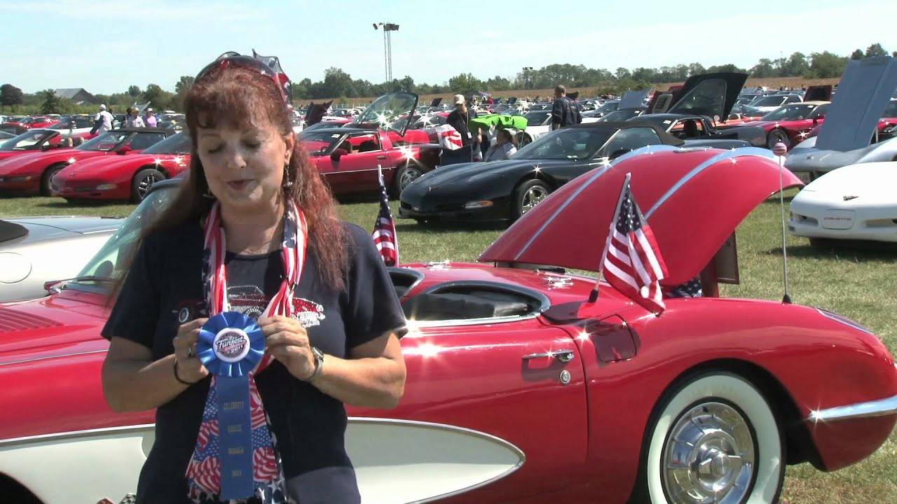 corvette funfest celebrity choice winners in effingham il mid america motorworks youtube. Black Bedroom Furniture Sets. Home Design Ideas
