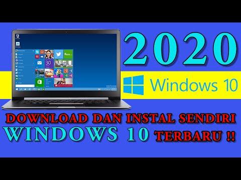 Cara Download Dan Instal Windows 10 Pro TERBARU 2020 !!