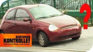 Kleiner Ford Ka ohne Kennzeichen: Herrenloser Flitzer! | Achtung Kontrolle | kabel eins