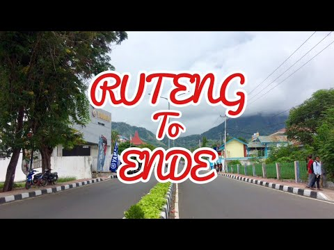 Road trip from Ruteng to Ende, Flores - East Nusa Tenggara