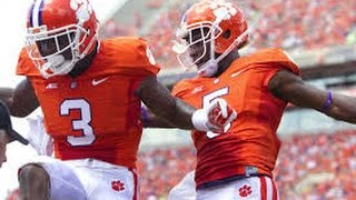 Clemson Tigers Wide Receivers Preview / Artavis Scott, Mike Williams, Hunter Renfrow