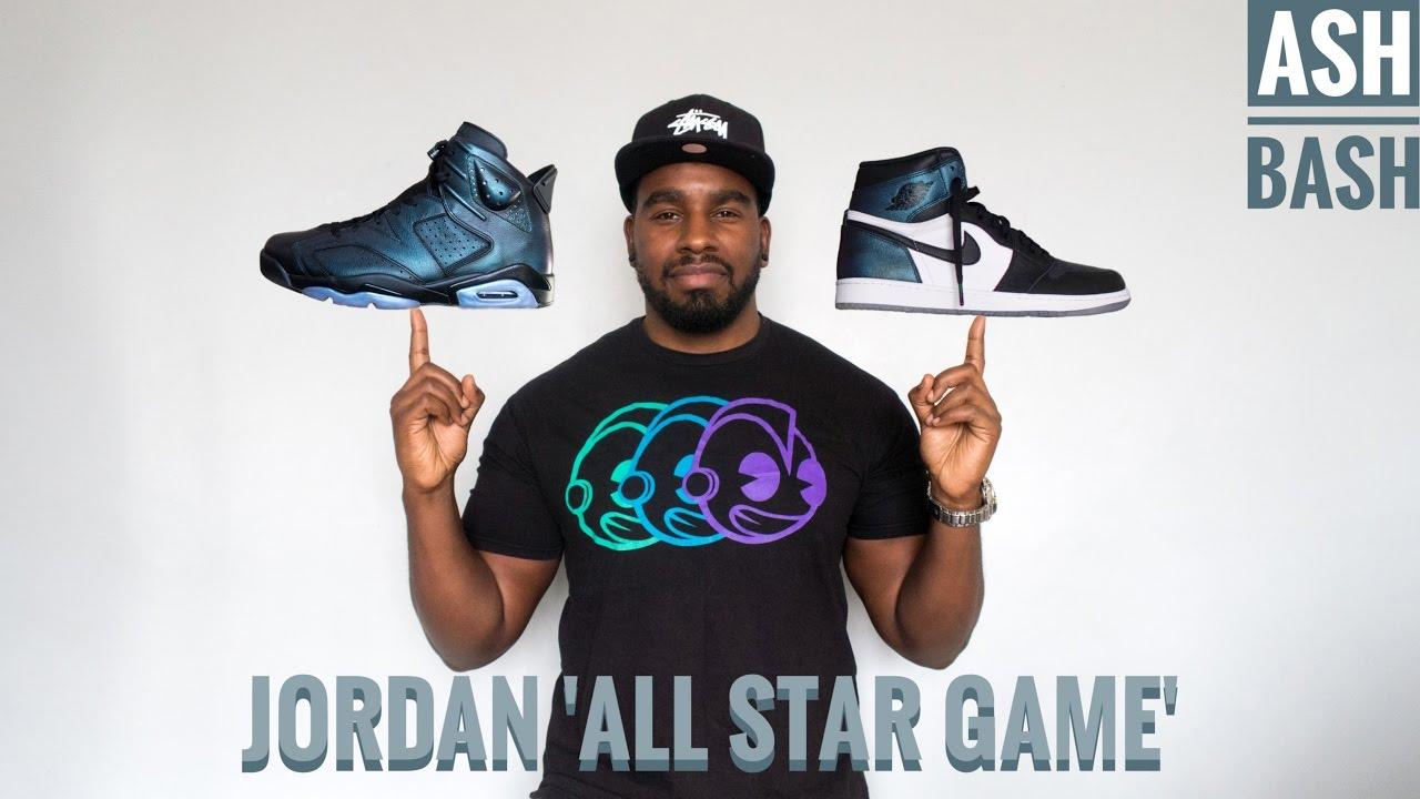 5786eca9be50e Jordan 1 & 6 | All Star 'Gotta Shine' | Review + On Foot | Ash Bash