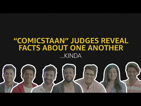 """""""Comicstaan"""" Judges Reveal Facts About One Another 