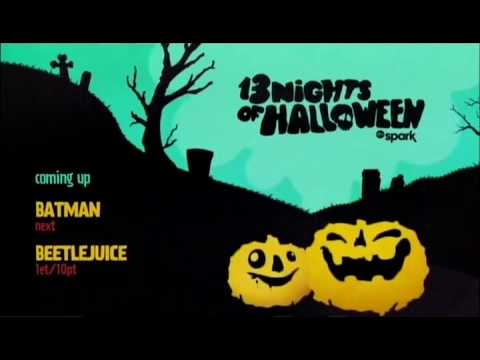 abc spark 2016 13 nights of halloween coming up bumper - 13 Night Of Halloween