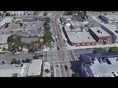 Long Beach Streetcar: Section One Flyover [Broadway]