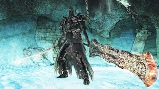 Dark Souls 2: Fume Knight Boss Fight (4K 60fps)