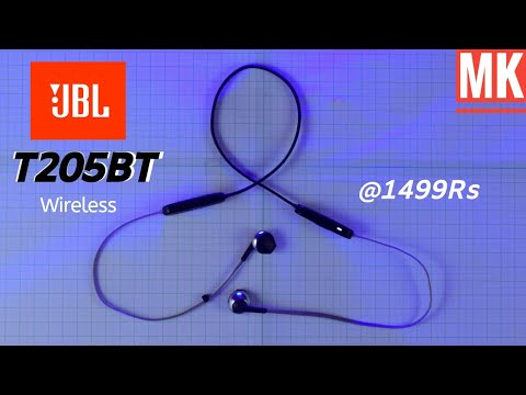 Jbl T205BT wireless earphone | Review | JBL bluetooth earphone with mic
