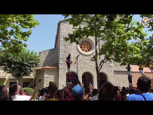 P4 Castellers Alt Maresme @ Begues (21/07/2019)