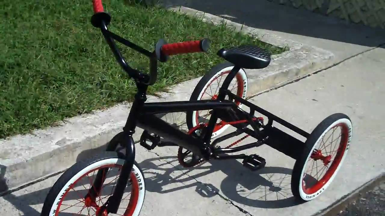 Lowrider Trike 16 Inch Bike Custum Made By Yours Trully