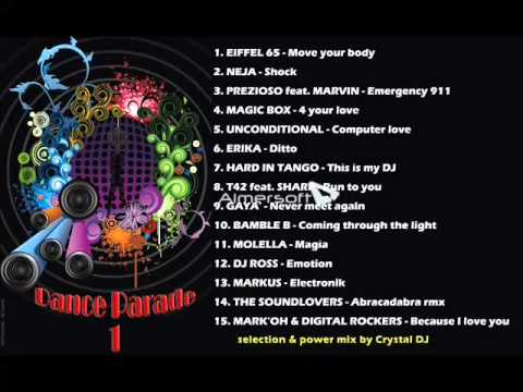 Dance Parade 1 anni 90-2000 by Crystal Dj