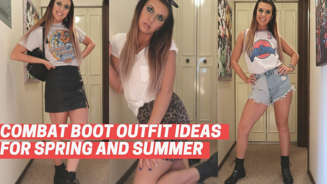 Combat Boot Outfit Ideas for Spring/Summer | Lookbook 2