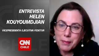 """Helen Kouyoumdjian por viajes interregionales: """"Se abre una puerta para empezar a funcionar"""""""