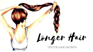 HOW TO GET LONG AND HEALTHY HAIR NATURALLY + 21 TIPS!!