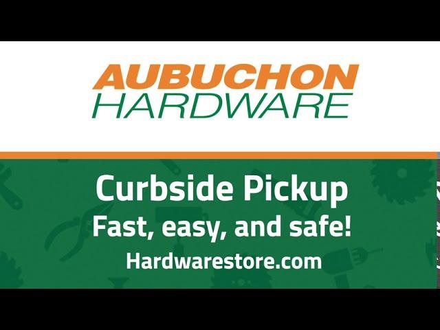Social media clip - Curbside pickup service