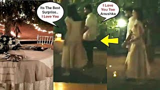 Virat Kohli Takes Anushka Sharma On Surprise Romantic Candle Light Dinner On Her Birthday