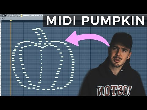 I Made a Midi Pumpkin for Halloween. | MIDI PICTURE CHALLENGE!