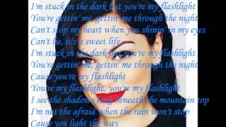 Jessie J- Flashlight (lyrics)
