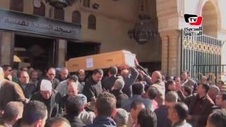 تشييع «رفات» ضحايا طائرة باريس من مسجد السيدة نفيسة