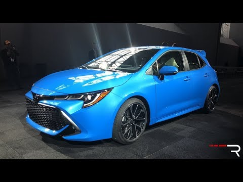 2019 Toyota Corolla Hatchback Redline First Look 2018 NYIAS