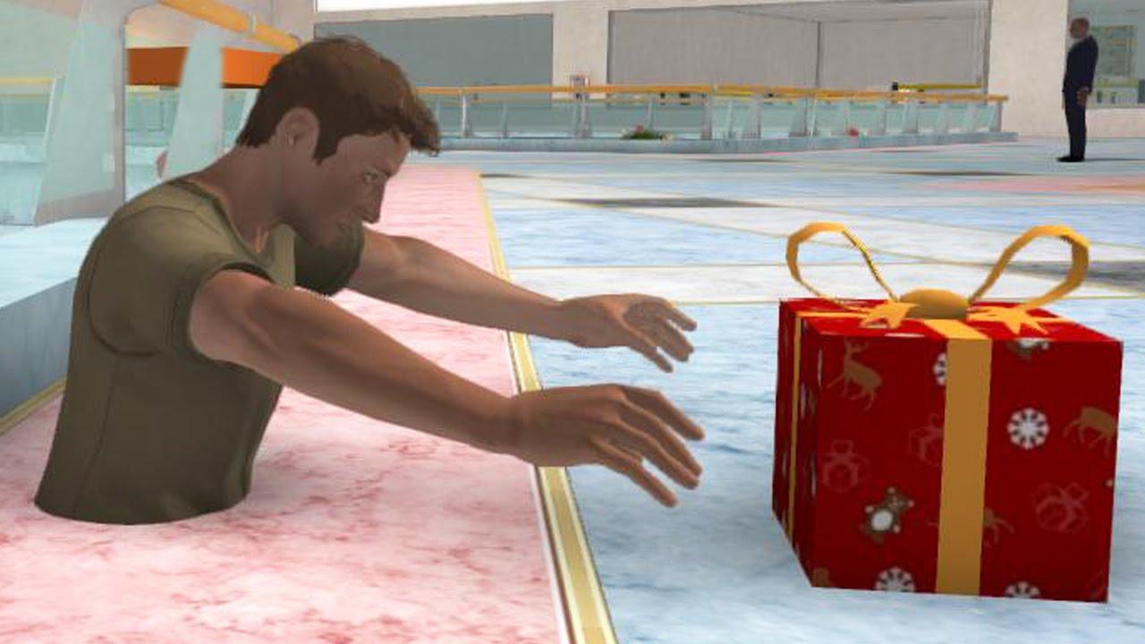 COMPRAS NAVIDEÑAS !! - Christmas Shopper Simulator | Fernanfloo