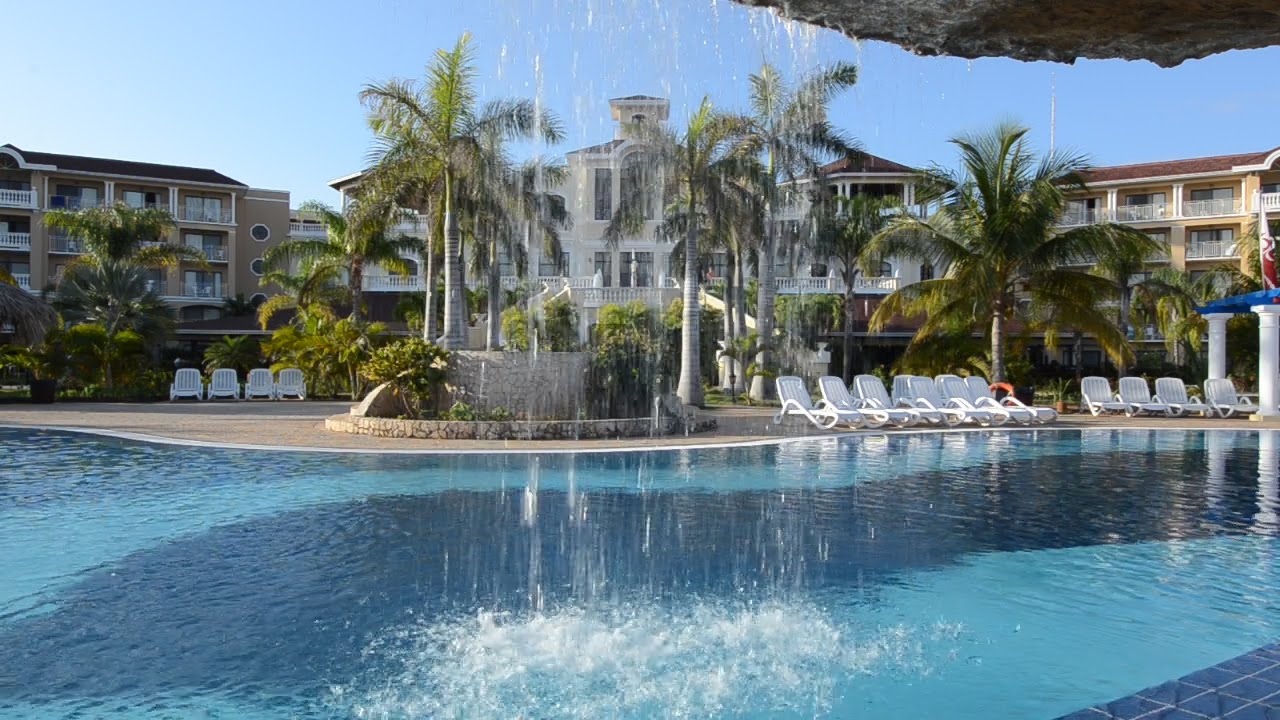 Swimming pools at the iberostar laguna azul beach resort varadero cuba youtube