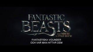 FANTASTISKA VIDUNDER OCH VAR MAN HITTAR DEM - Biopremiär 18 november - Trailer 1 HD