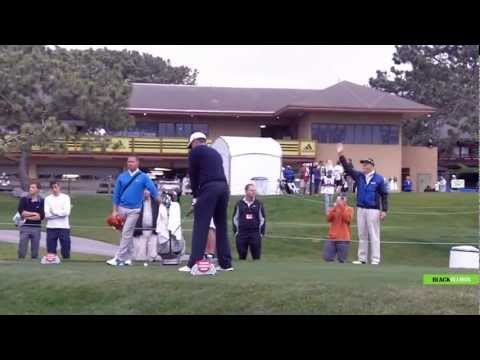 Tiger Woods - Practice Round (Raw Footage) at Torrey Pines