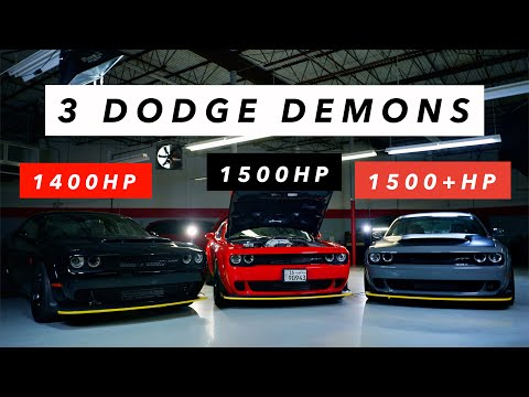 Why The DODGE DEMON Is Better!