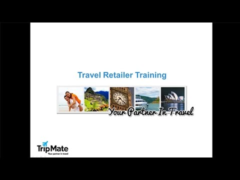 Trip Mate Travel RetailerTraining