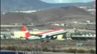 Aterrizajes y despegues desde el Aeropuerto de Gran Canaria. (1 de 3)